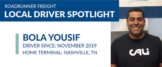 local driver spotlight